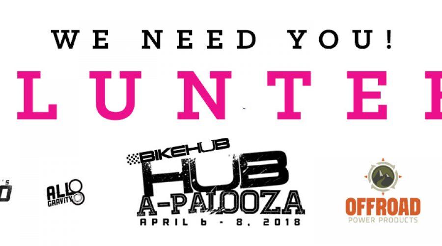 Hub-a-Palooza 2018 – Call for Volunteers!