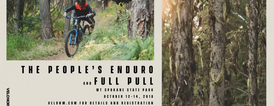 The People's Enduro & Full Pull – Mt Spokane – October 12-14, 2018