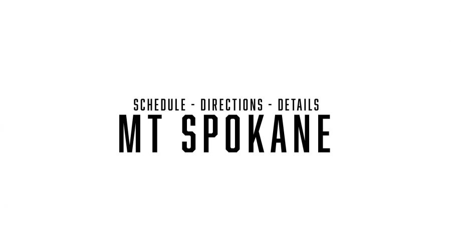 Mt Spokane schedule, directions and details!